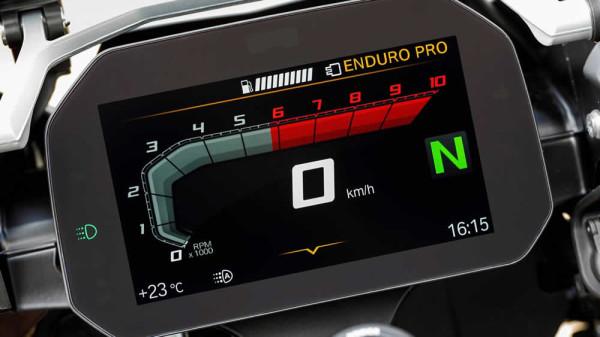 BMW R 1250 GS 2019 Painel TFT 6,5