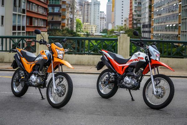 Nova Honda Bros 160 2019 Preço (Laranja e Branca)