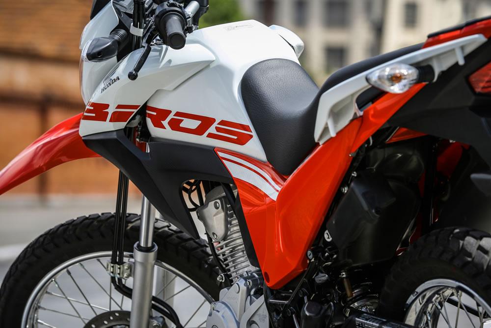 Nova Honda Bros 160 2019 Lanterna Traseira Motorede