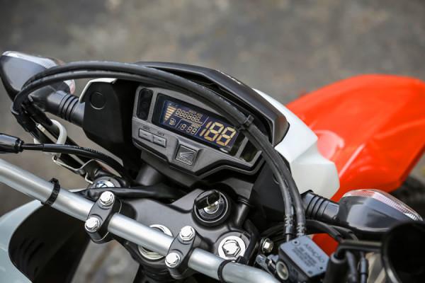 Nova Honda Bros 160 2019 Painel