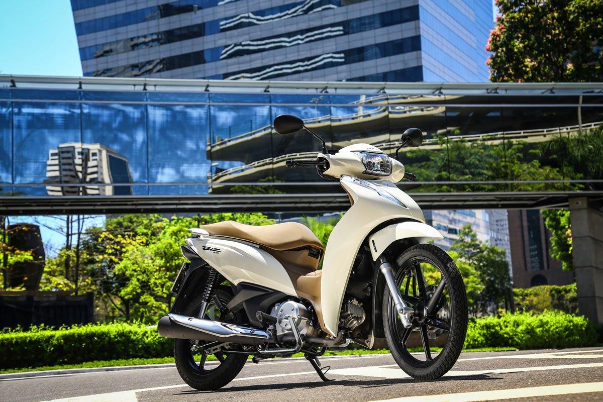Honda Biz 125 2019 Branca