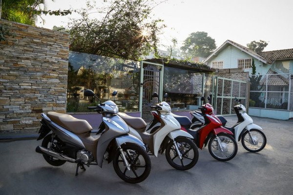 Honda Biz 2019 Novas Cores