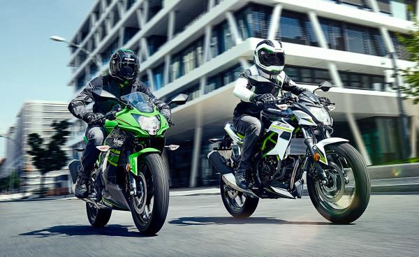 Novas Kawasaki Ninja 125 Z125 2019