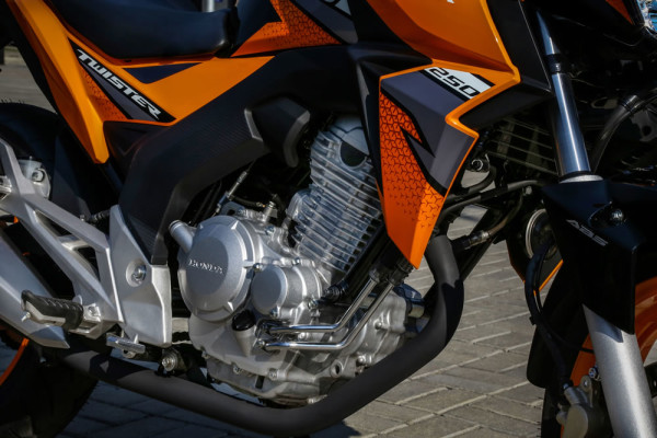 Nova CB Twister ABS 2019 Laranja Motor