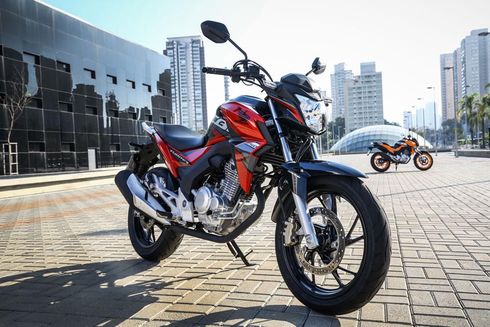Nova Cb Twister Cbs 2019 Vermelha Motorede