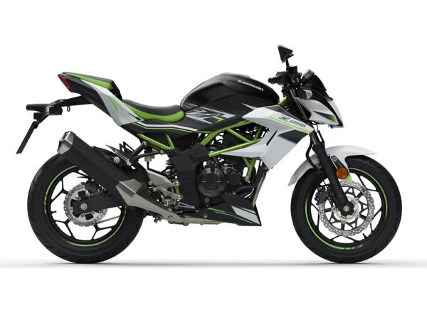 Nova Kawasaki Z125 2019 Branca