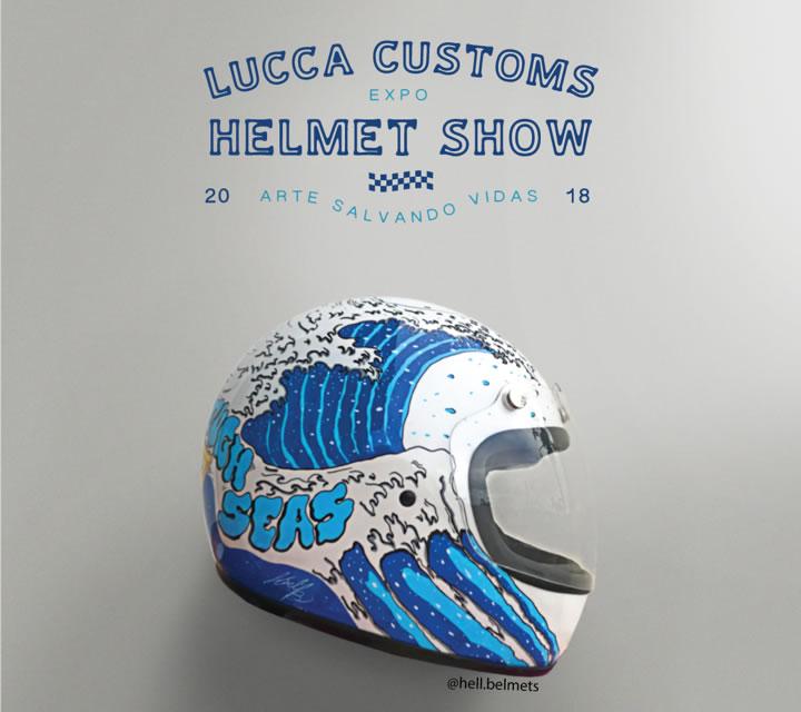 Lucca Customs Leilão Capacetes