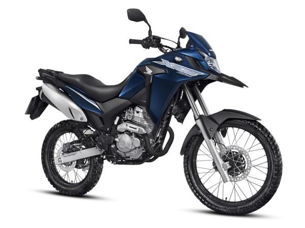 XRE 300 2019 Azul Perolizado