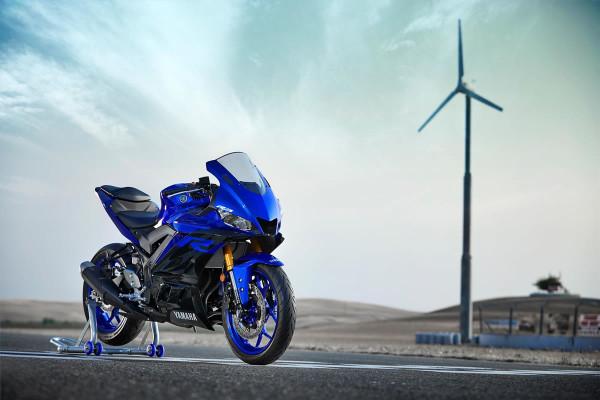 Nova Yamaha R3 2019 Azul