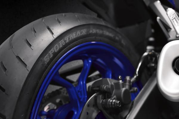 Nova Yamaha R3 2019 Pneu Dunlop