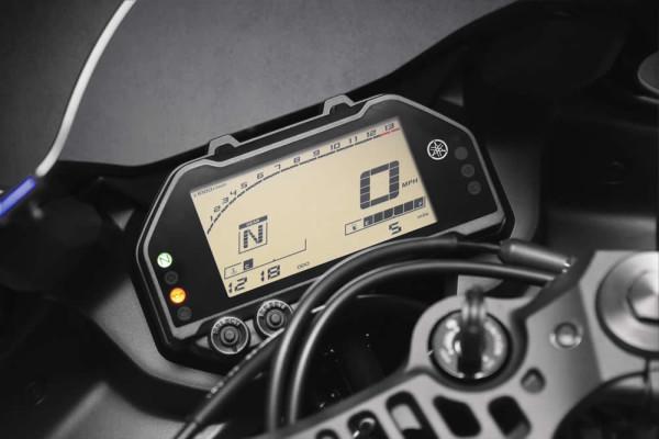 Nova Yamaha R3 2019 Painel Digital