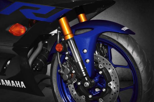 Nova Yamaha R3 2019 Suspensão Dianteira