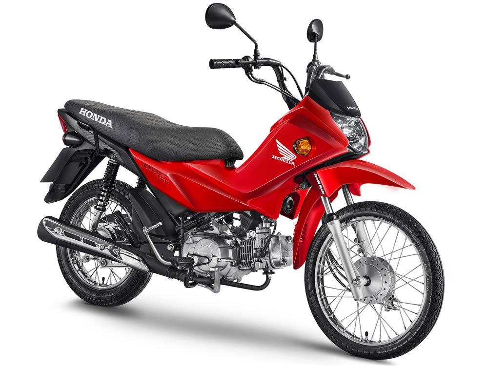 Pop 110i 2019 Vermelha Cbs Motorede