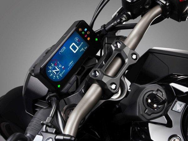 Honda CB 650R 2019 08 Painel Digital