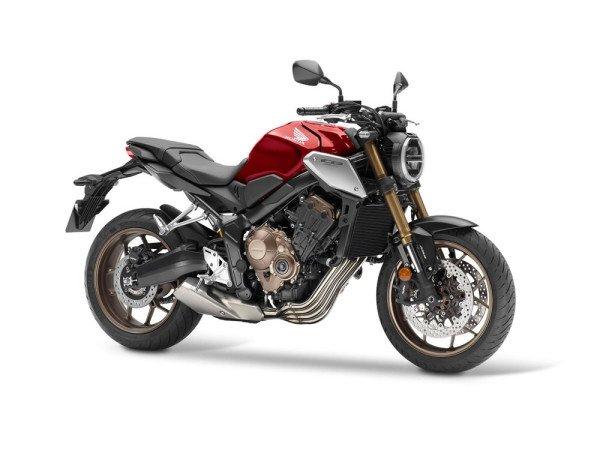 Honda CB 650R 2019 11 Vermelha