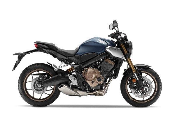 Honda CB 650R 2019 16 Azul