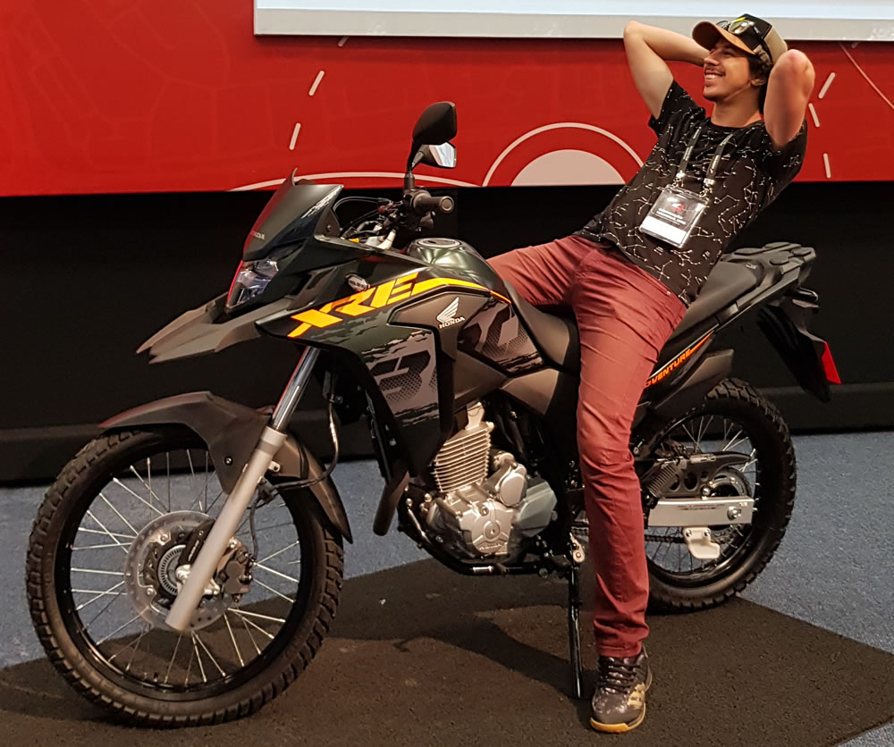 Honda Xre 300 2019 02 Motorede