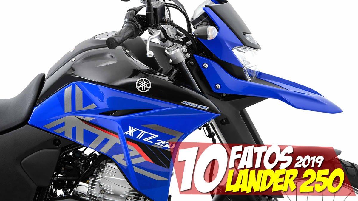 10 Fatos Lander 250 ABS 2019