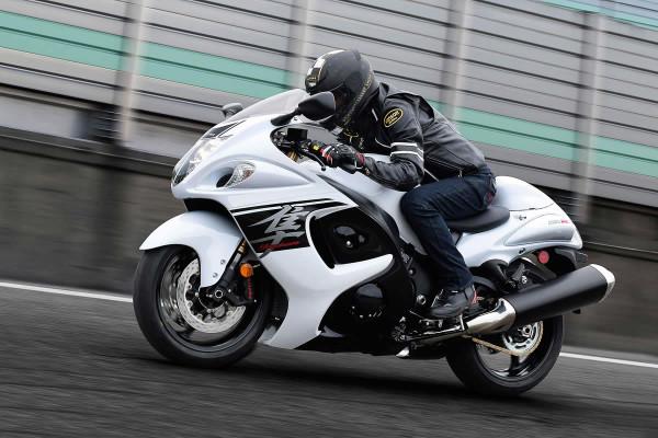 Suzuki Hayabusa sai de linha