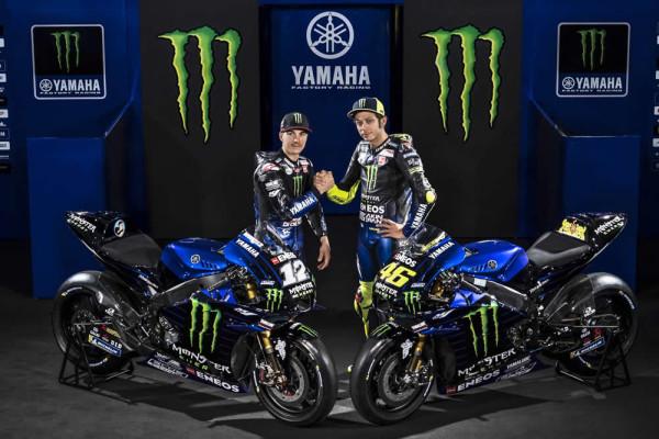 Yamaha-YZR-M1-2019 Rossi e Vinales