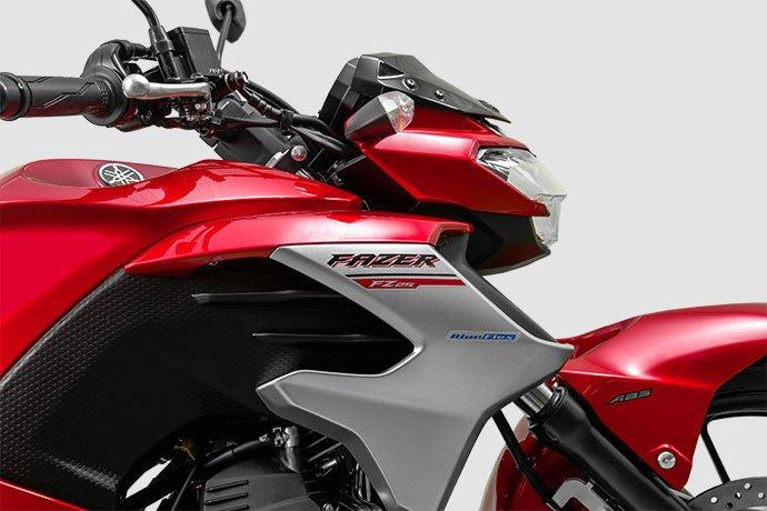 fazer - Yamaha lança nova cor para Fazer 250 ABS 2020 Nova-Fazer-250-2020-01-Vermelha
