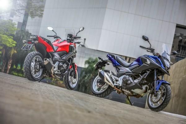 Honda NC 750X 2020 Vermelha e Azul