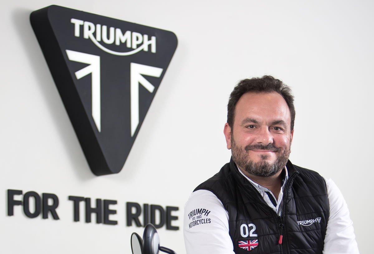 Triumph Gerente Renato Fabrini