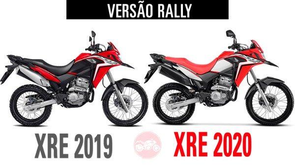 XRE300 2019 vs XRE300 2020