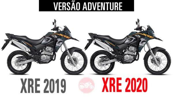 XRE300 2019 vs XRE300 2020 Adventure