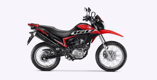 Honda Bros160 2020 Vermelha