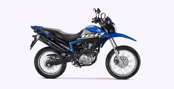 Honda Bros160 2020 Azul