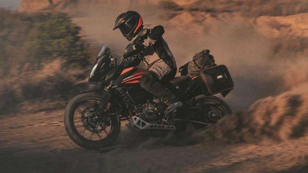 KTM 390 Adventure Brasil na terra