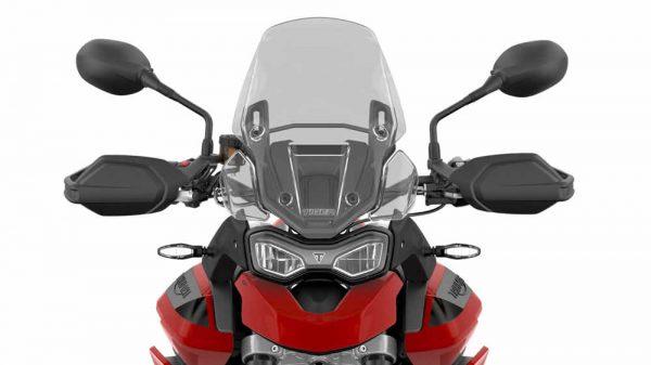 Nova moto Triumph Tiger 900 vista de frente