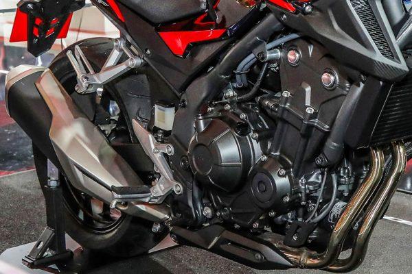Nova CB 500F 2020 no Brasil Motor