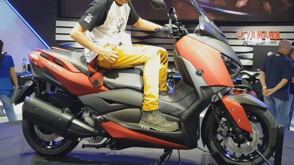 Yamaha X-Max 250 Ciclística