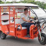 Uber passa a oferecer viagens de Tuk-Tuk elétrico