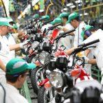 Produção de motos em alta: Em janeiro já foram mais de 100 mil!