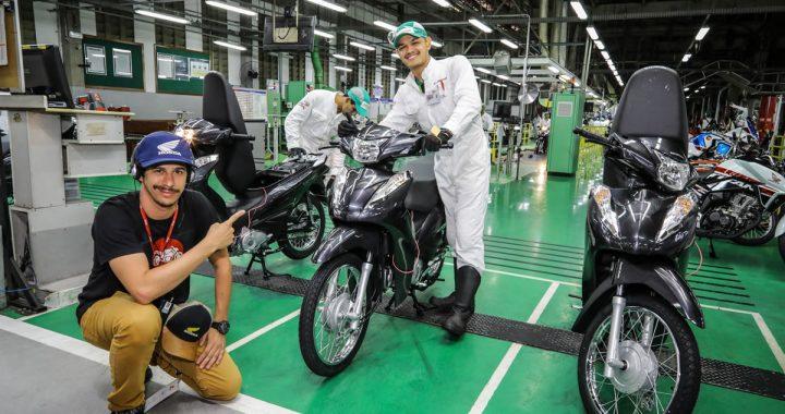 Fábrica Honda 25 milhões de motos