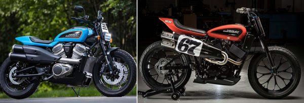 Comparativo Harley Flat-Tracker vs XG 750R