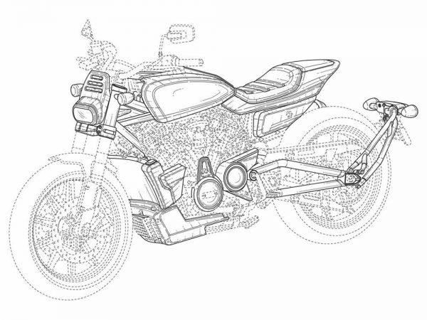 Imagem de registro da nova Harley-Davidson Flat-Tracker