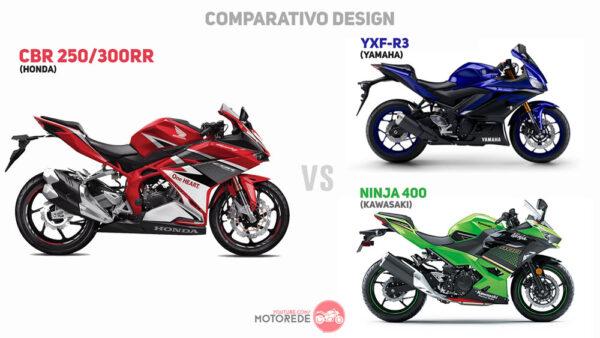 CBR300RR-vs-R3-vs-NINJA400-DESIGN