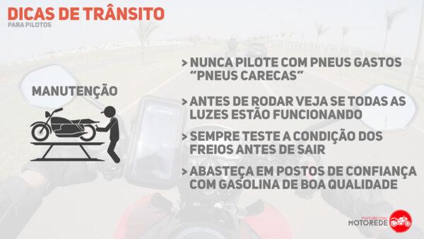 dicas de segurança no transito