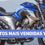 Motos mais vendidas Yamaha em 2020