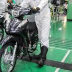 Produção de motos passa das 125 mil unidades em março
